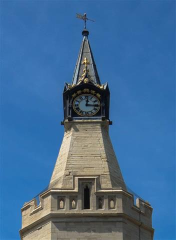Town Hall Clock Face